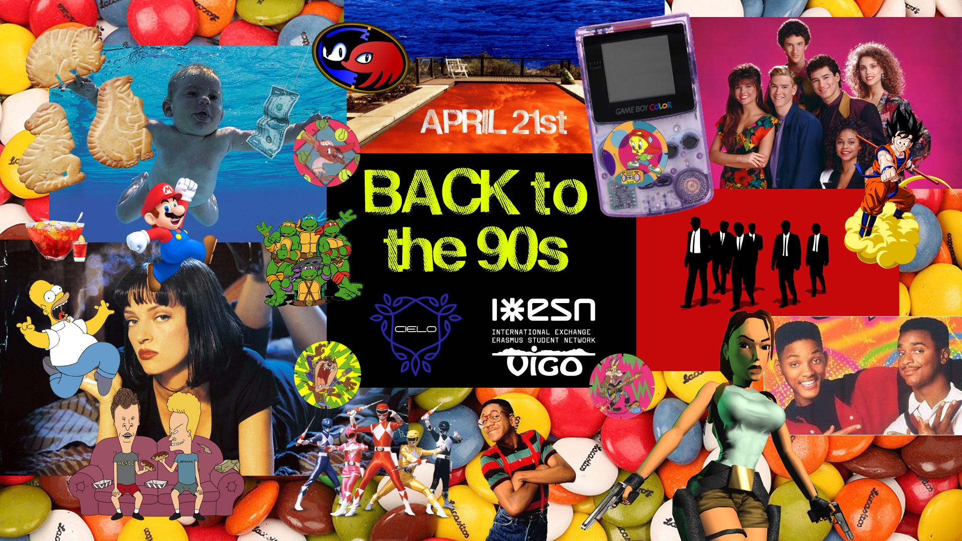 Back To The 90s Party Esn Vigo